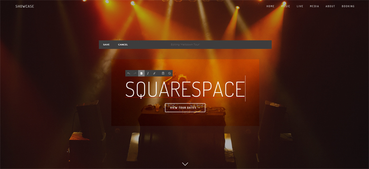 Best website builder wix vs squarespace vs virb vs weebly for Virb templates