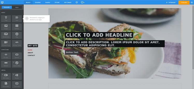 Wix Editor Free Plan