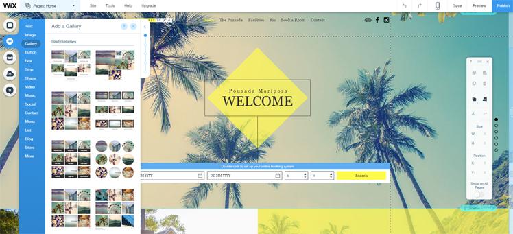 Wix Theme Editor