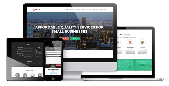7 Top Corporate / Business WordPress Themes for 2016