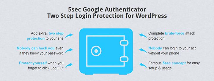 5sec Google Authenticator 2-Step Logi_