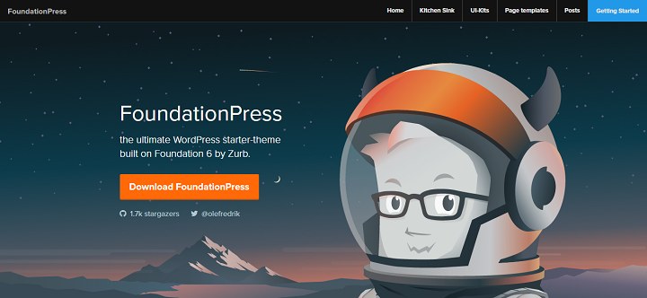 FoundationPress WordPress starter theme