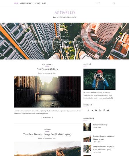 activello tema wordpress