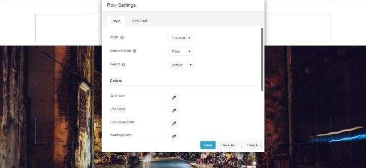 Beaver Builder Row Settings - Create Complex Content With WordPress Page Builder Plugins