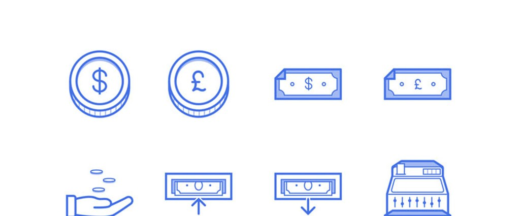 Freebie: Finance Icon Set (SVG, PNG, Sketch, AI)