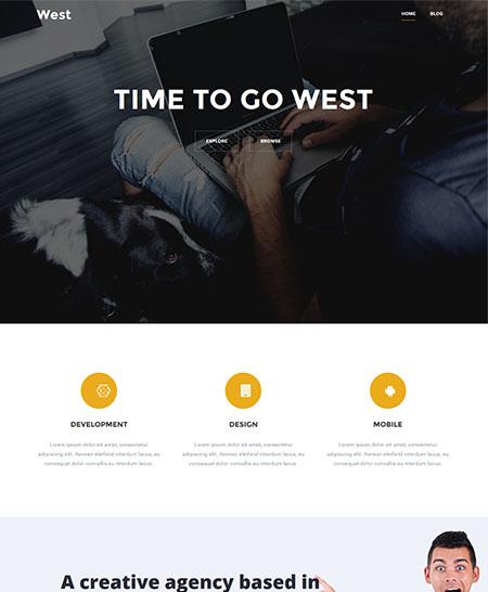 ovest tema wordpress