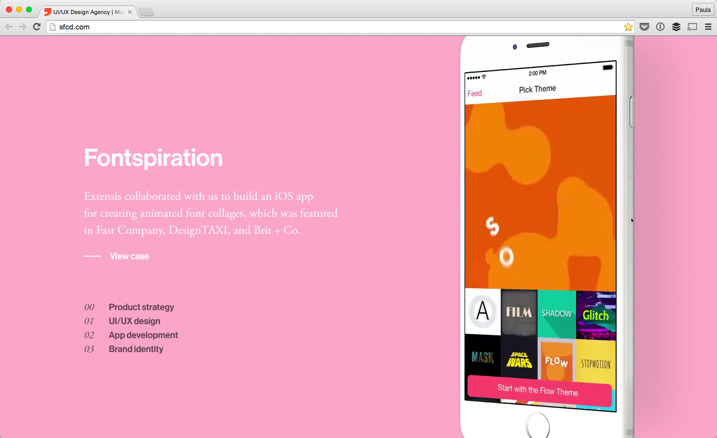 17 Websites with Typography-Driven Design