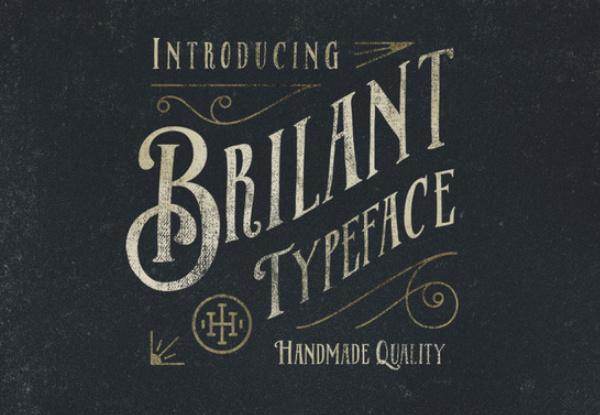Brilant Typeface
