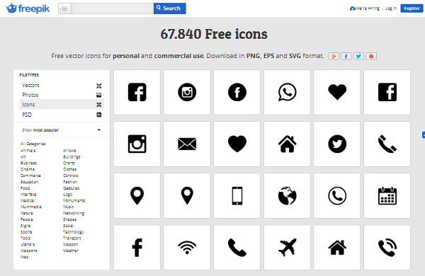 10+ material design icons & font pack for website & android free.