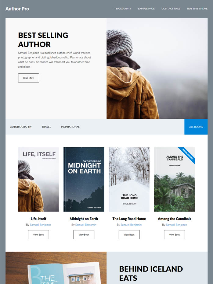 author-pro wordpress theme