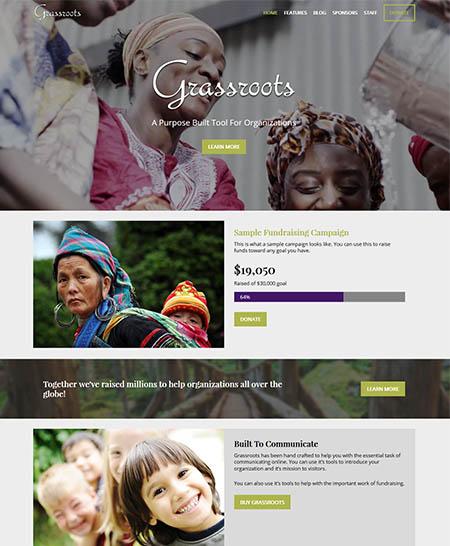 grassroots theme