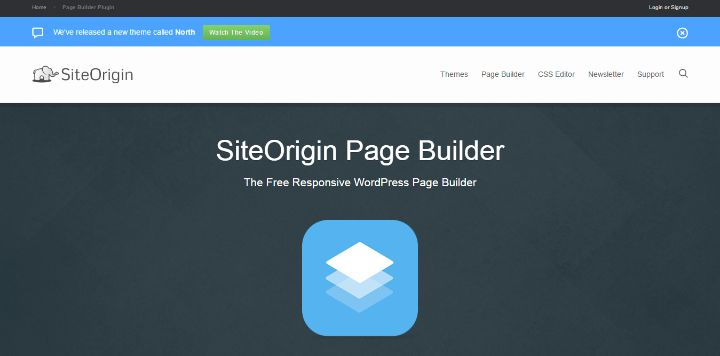 SiteOrigin Page Builder - Comparison of WordPress Page Builder Plugins