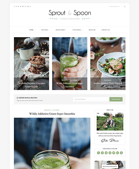 sprout-spoon wordpress theme