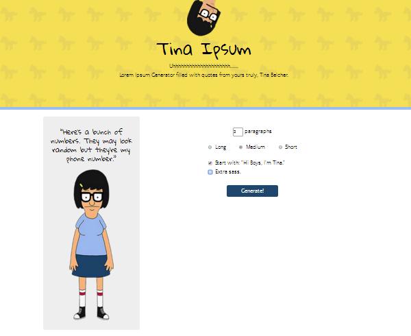 Tina Ipsum