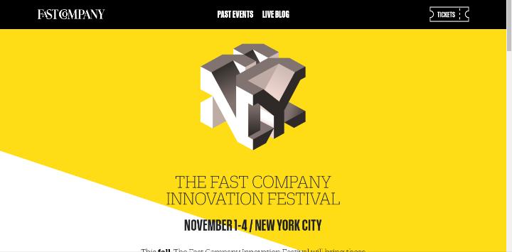 Fast Company Innovation Festival