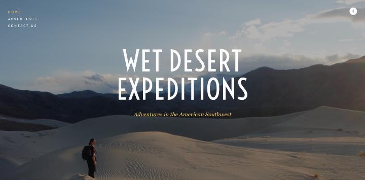 Wet Desert Expeditions