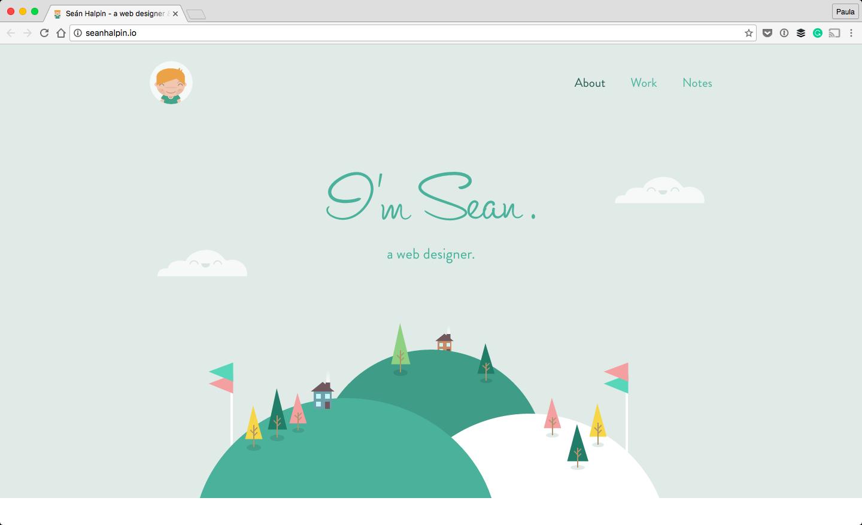 Seán Halpin - a web designer & developer - About 2016-08-30 22-37-58