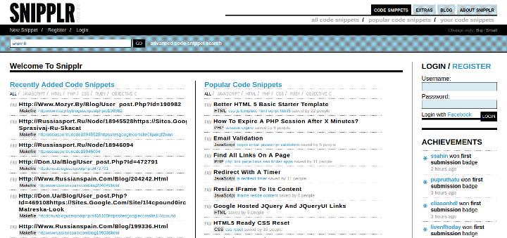 15 Useful Code Sharing Websites for Web Developers - Design Bombs