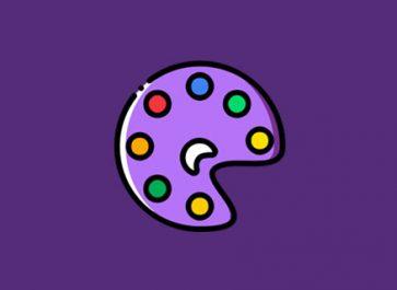 Art Monochromatic Colour Scheme Design