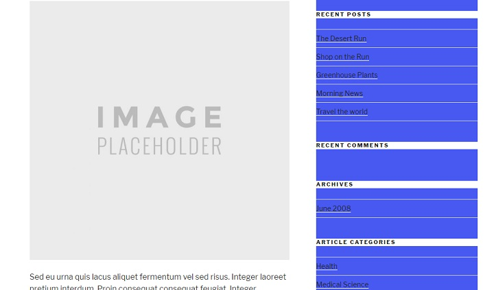 Twenty Seventeen Theme - Sidebar Background Color White Background For Widget Titles