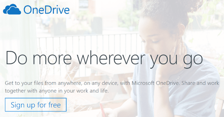 dropbox alternatives microsoft onedrive