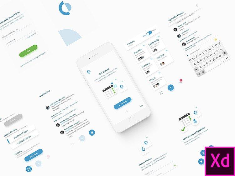 collaboration app xd