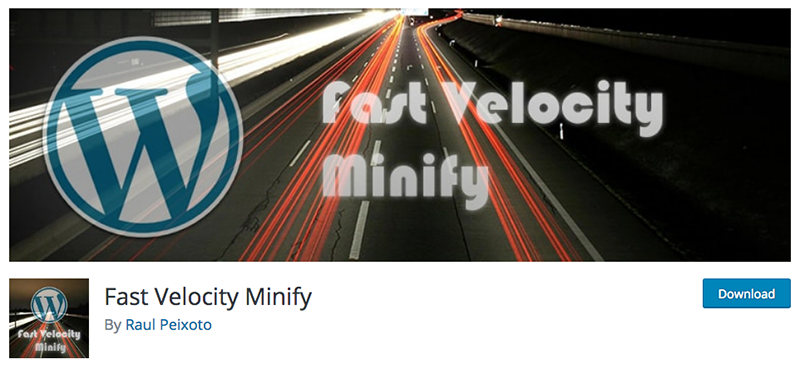 The Fast Velocity Minify plugin