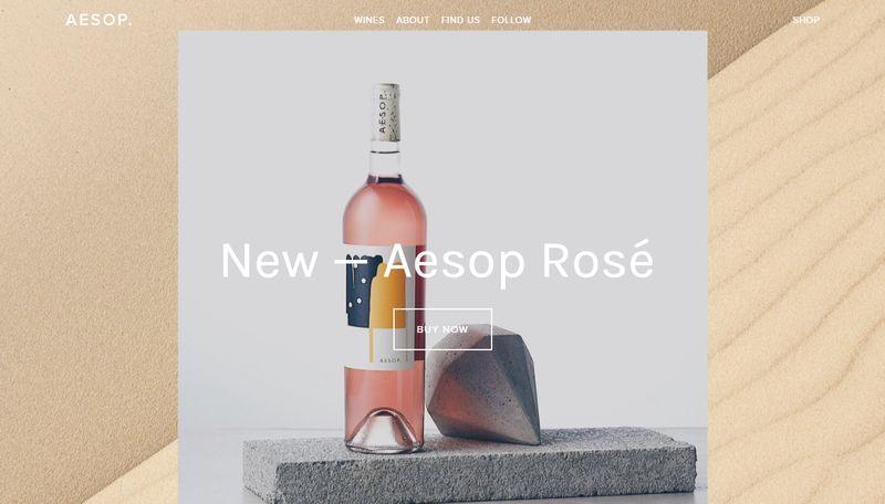 Aesop Wines - Squarespace