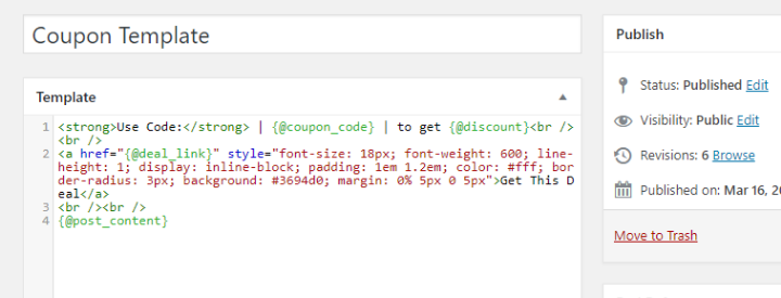more advanced magic tags with html;