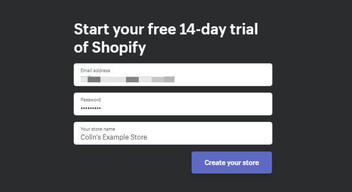 how to create an ecommerce store with shopify