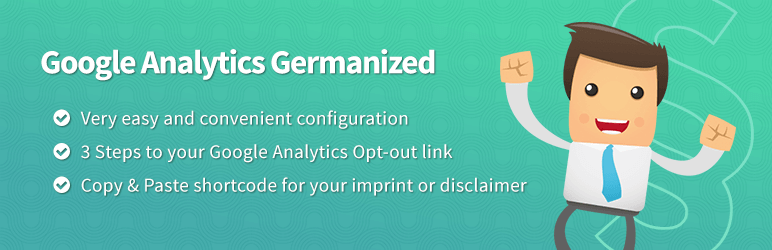 Google Analytics Germanized GDPR DSGVO