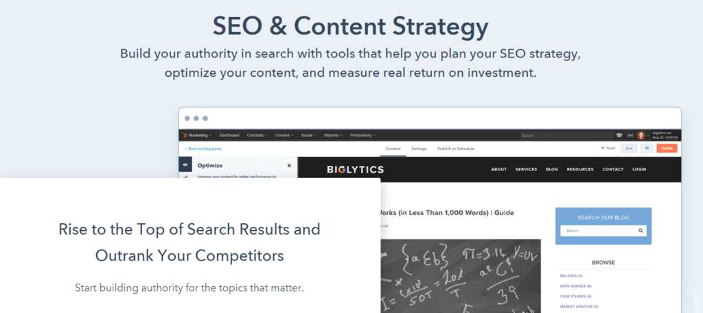 The SEO & Content Strategy website.