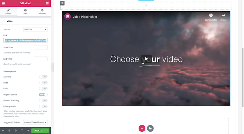 Elementor Video