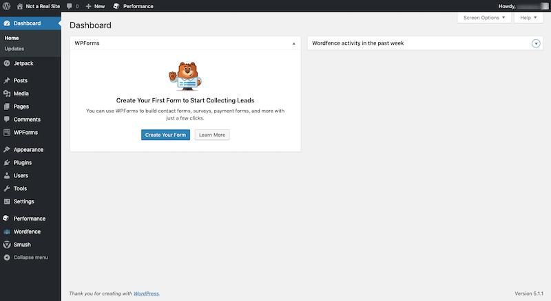WordPress with Plugins
