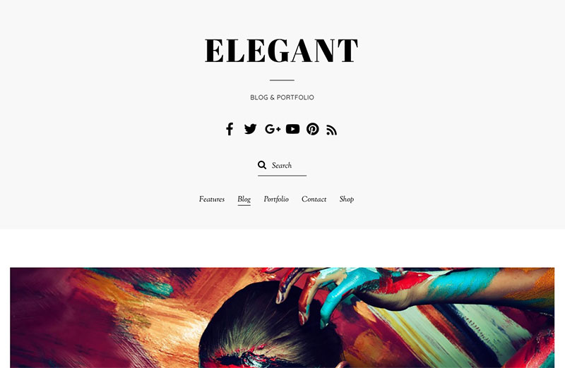 Elegant WordPress themes for writers