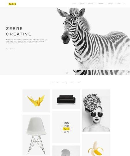 zebre-minimal-theme