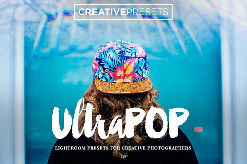20 UltraPOP Lightroom Presets