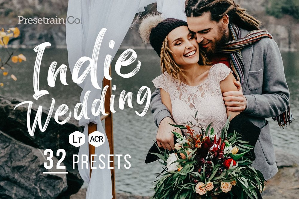 Indie Wedding Photography Lightroom Presets