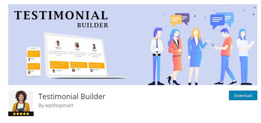 testimonial builder