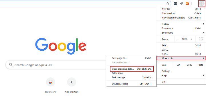 clear browser history in google chrome
