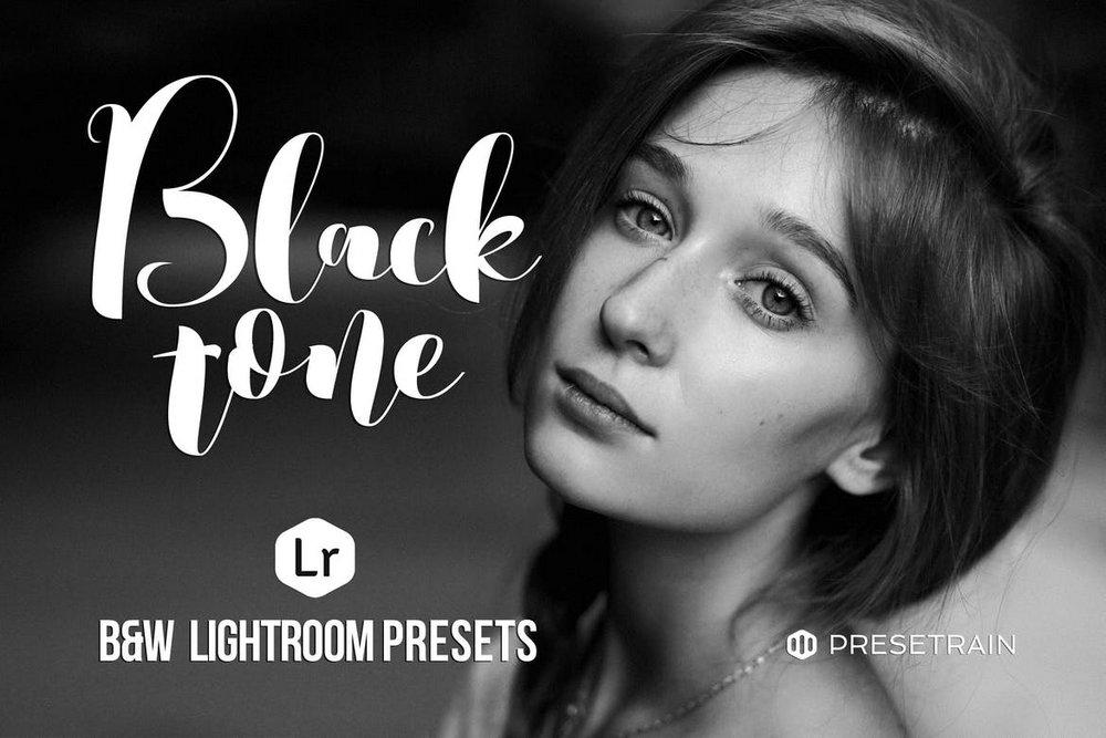 Blacktone Black & White Lightroom Presets