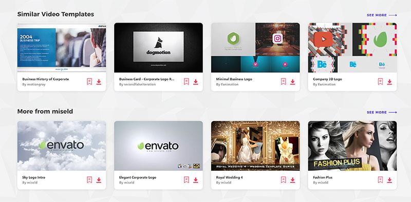 Similar Video Templates on Envato Elements