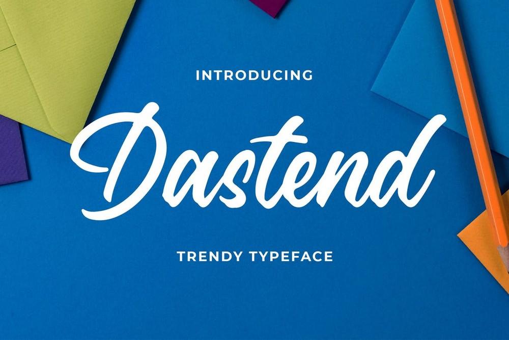 Dastend - Trendy Script Typeface