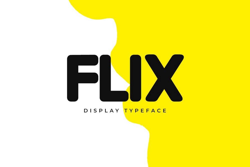 FLIX - Modern Logo & Display Font
