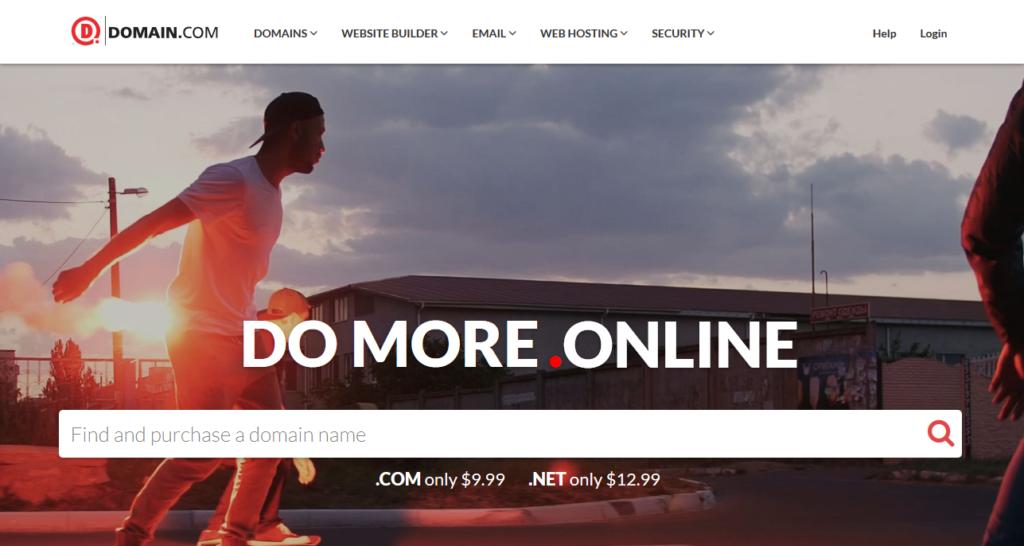 domain.com domain registrar
