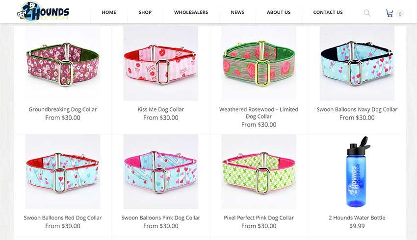 2 Hounds Design WooCommerce Shop