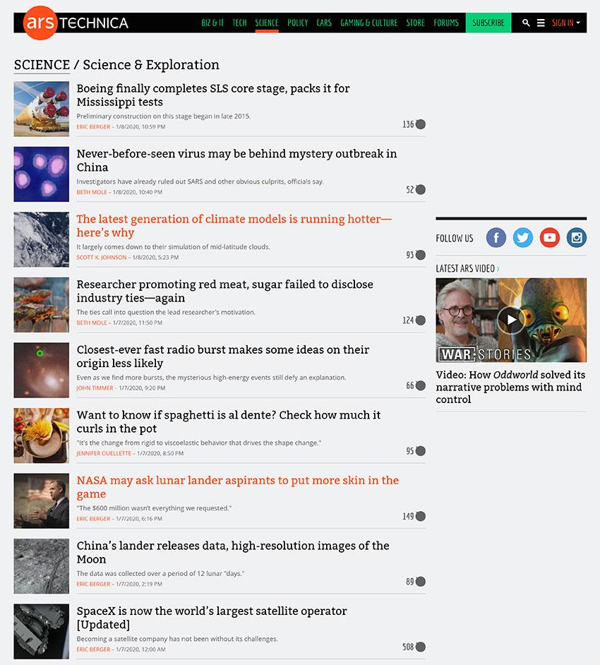 ArsTechnica Blog
