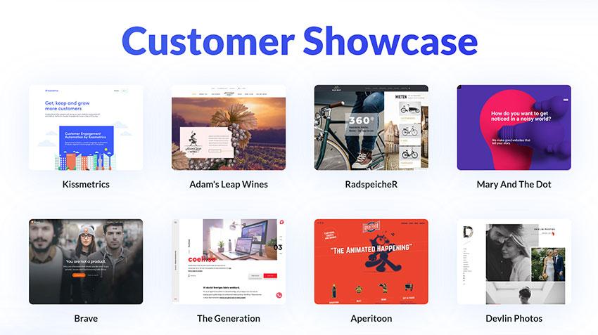 Divi Customer Showcase