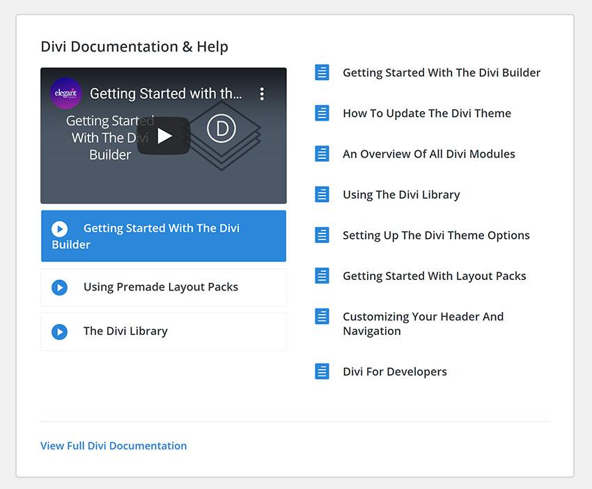 Support Center Documentation & Help