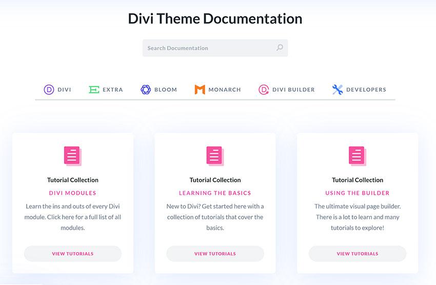 Divi Theme Documentation